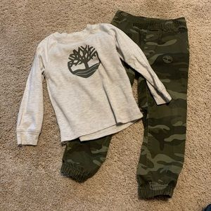 Boys 4t timberland outfit
